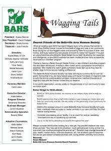BAHS Newsletter