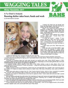 BAHS Newsletter December 2017