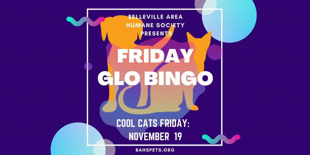 Register for Friday Glo Bingo